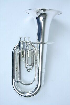 Euphonium Courtois model 163 #794241 with small user marks/serviced and cleaned