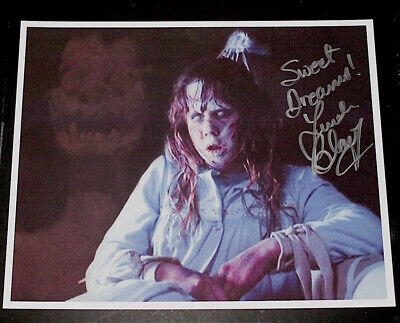 Linda Blair  /  The Exorcist  /  Signed Color Photo #1