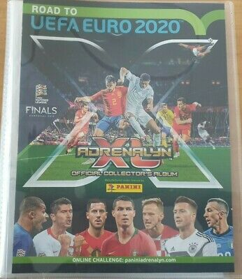 Panini Adrenalyn XL Road to Euro 2020 Official Binder Complete set 225 Team Mate