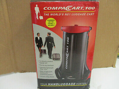 Portable Folding Luggage Cart Trolley Travel Compact Cart 100