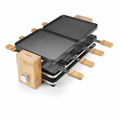 Princess 01.162910.01.001 162910 Raclette Pure 8 1200 W - 41.8x23 cm - for up