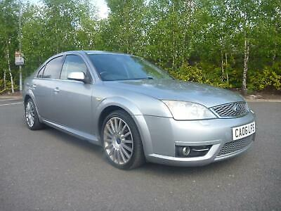 2006 FORD MONDEO 2.2TDCi 155 ST 5dr SILVER BLACK LEATHER ALLOYS