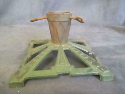 Antique Cast Iron Christmas Tree Stand chs