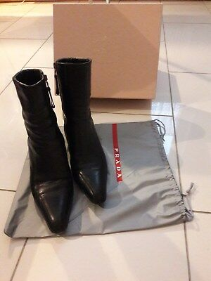 7d695a9fbef97c SANTONI ITALY CHELSEA Boots Weiches Leder Hoch Edel Gr. UK 7 in ...