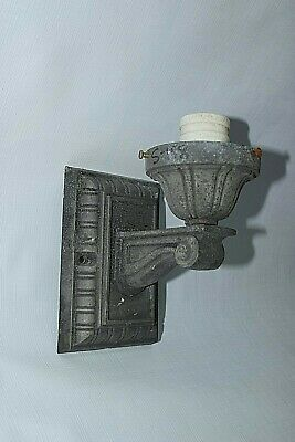 Vintage Outdoors Porch Light Fixture Wall Mount - Needs your shade / Globe