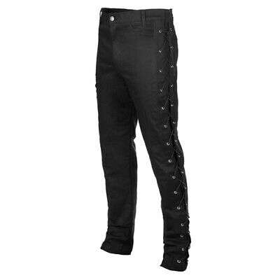 Mode Wichtig Skinny Pants Laced Up