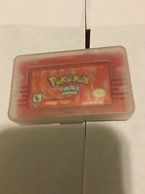Pokemon: FireRed Version Nintendo Game Boy Brand New Repro