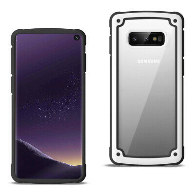 Reiko SAMSUNG GALAXY S10 Lite(S10e) Heavy Duty Rugged Shockproof Full Body White