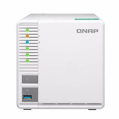 QNAP TS-328 2GB 3 Bay 4K Stream RAID 5 Diskless NAS