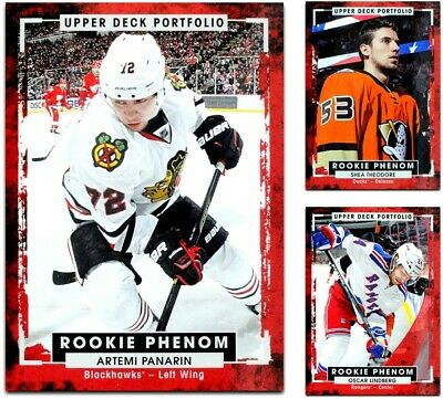 2015-16 UD Portfolio Rookie Phenom **** PICK YOUR CARD **** From The LIST