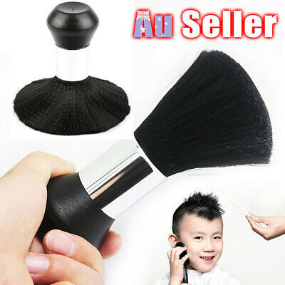 Hair Cutting Stylist Black TU Salon Duster Barber Neck Brush Clean Hairdressing