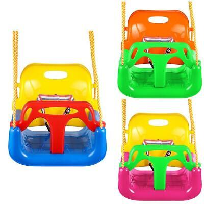 3 In 1 Jungle Gym Swing Seat Heavy Duty Chain Playground Swing Set s2zl 04