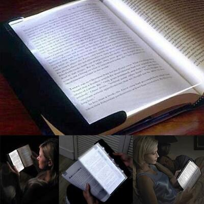 Portable LED Read Panel Light Book Reading Lamp Night Vision For Travel US