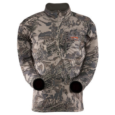 Sitka Gear Traverse Zip-T Long Sleeve Shirt Open Country Camo Small New w/tags