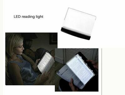 Creative LED Book Light Reading Night Light Flat Plate Portable Car Travel Panel