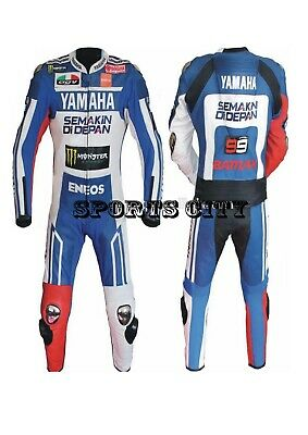 Yamaha Motorbike/Motorcycle Racing Leather Suit. 1&2 pieces