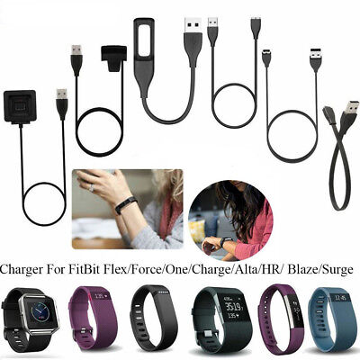 USB Charger Charging Cable Cord For FitBit Charge 2/Alta/Blaze/Surge/Force/One