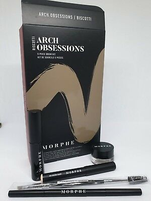 Morphe Arch Obsessions Eye Brow Kit - Hazelnut 100% Authentic New Boxed