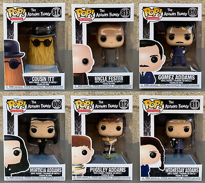 Funko POP! Television: The Addams Family (Variation Listing)