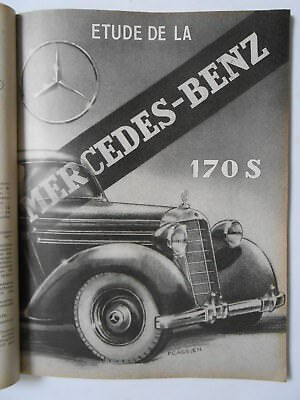 ► Revue Technique - Mercedes 170 S & Tracteur David Brown - 1953