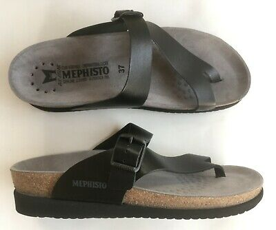 Mephisto Noires35 Mules 50 Eur 39 Chaussures Neuves Sandales rdBoWCxQe