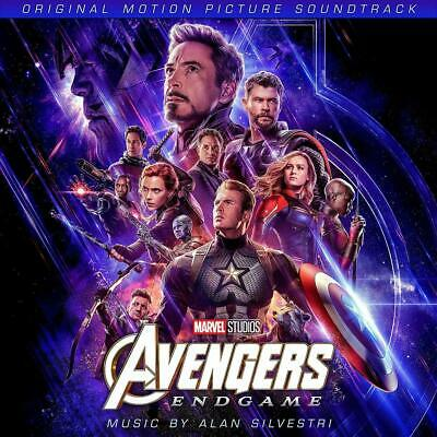 AVENGERS : ENDGAME (Original Motion Picture Soundtrack) CD (31st May 2019)