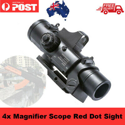4 Magnifier Red Scope Sight/Infrared Telescope for JM Gel Ball Blaster Gun Part