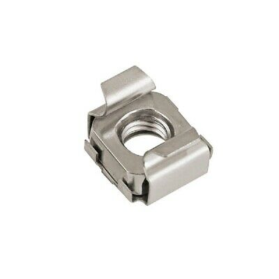 201 Stainless Steel - Cage Nuts Snap-In Nuts - M4 M5 M6 M8