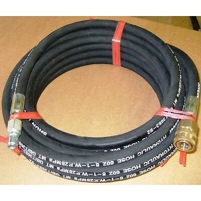 20m Kiam High Pressure Washer Hose Quick Release Heavy Duty Industrial 5/16