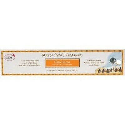 Palo Santo Marco Polo's Treasures 100% Certified Natural Incense
