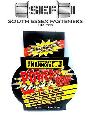 Everbuild Mammoth Powergrip double-sided tape 25mm x 2.5m