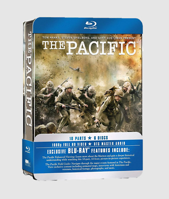 The Pacific: Complete HBO Series Blu-ray with Tin Case Box Edition