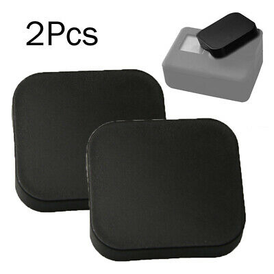 For GoPro HERO, 5, 6, 7 Silicon Soft Dirtproof Skin Cover Lens Cap Protector