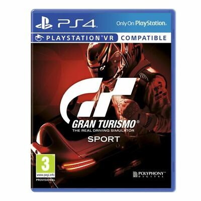 PS4 Game Gran Turismo Sport Standard Edition for PlayStation 4