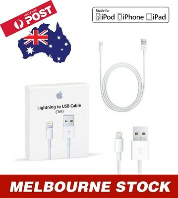 USB Lightning Charging Cable for Apple Charger (iPhone, iPad, iPod)