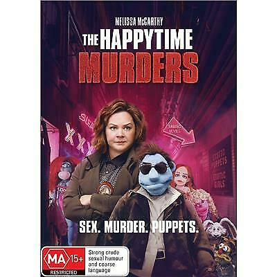 The Happytime Murders Dvd, New & Sealed, 2019 Release, Free Post