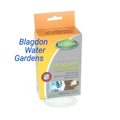 Blagdon ph adjuster for alkaline ponds water treatment