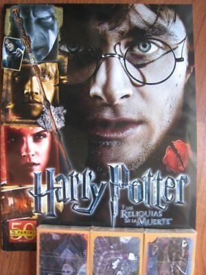 Harry Potter Deathly Hallows Part 2 Panini Complete Collection + Album