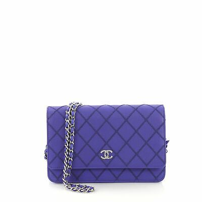 865e100de676 CHANEL FANCY WALLET on Chain Quilted Calfskin - $2,380.00 | PicClick