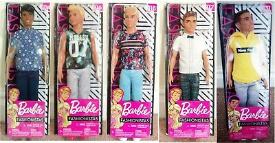 Barbie fashionistas ken doll assortment DWK44