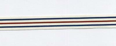 """1x6/"""" piece of ORIGINAL MINIATURE ribbon-KINGS MEDAL FOR COURAGE-CAUSE of FREEDOM"""