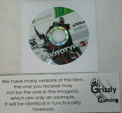 USED Prototype 2 Microsoft XBOX 360 (NTSC) DISC ONLY!!
