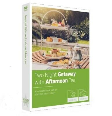 Boots Activity Superstore 2 Nights Away With Afternoon Tea. *Less Than Half Rrp.