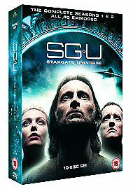 SGU: Stargate Universe Complete Series Season 1 & 2 DVD Box Set