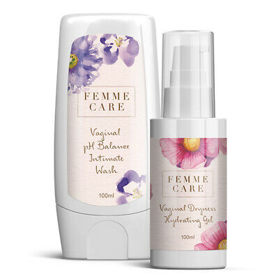 Blossoming Beauty Femme Care Vagina Hydrating Gel & PH Balance Intimate Wash