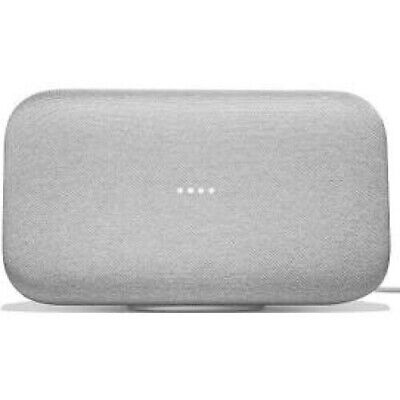 Google Home Max - Smart speaker - Wi-Fi, Bluetooth - 2-way - chalk