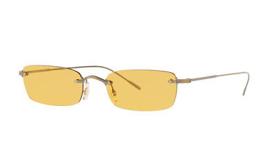 Authentic Oliver Peoples DAVEIGH 1243S -503985 Sunglasses Antique Gold *NEW*54mm