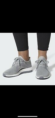 ff47a10a4 NEW Women s Adidas Pureboost X Element Running Shoes Gray Size 9 BB6085