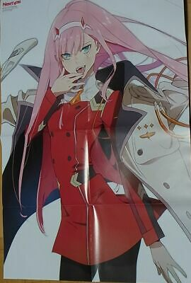 Darling in the Franxx A4 Size Clear Poste Zero T wo /& Hiro C94