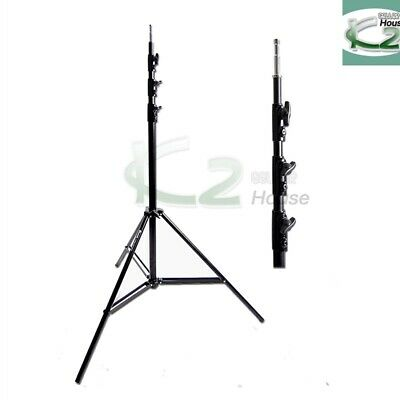 12ft Heavy Duty Light Stand Tripod Support for Photography Studio Video Lighting